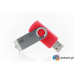 Pendrive GoodRam Twister UTS3-0320R0R11 (32GB  USB 3.0  kolor czerwony)