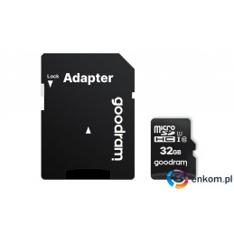 Karta pamięci GoodRam M1AA-0320R12 (32GB  Class 10  + adapter)