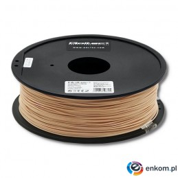 Filament Qoltec do druku 3D | PLA PRO | 1,75mm | 1kg | Skin