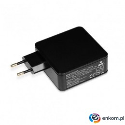 Zasilacz IBOX IUZ65WA do notebooka (20,5 V  3,25 A, 3,5 A  65W )