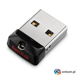 Pendrive SanDisk Cruzer Fit 16GB USB 2.0