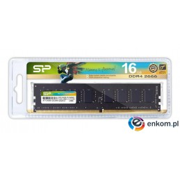 Pamięć DDR4 Silicon Power 16GB (1x16GB) 2666MHz CL19 1,2V