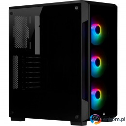 OBUDOWA CORSAIR iCUE 220T RGB TG Mid Tower BLACK