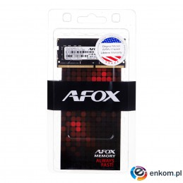 AFOX SO-DIMM DDR4 8G 2400MHZ MICRON CHIP AFSD48EH1P