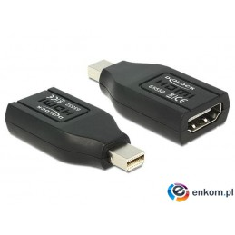 Adapter Delock DisplayPort MINI -  HDMI black