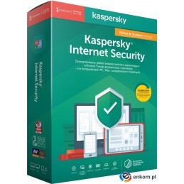 Licencja BOX Kaspersky Internet Security Home&Student - multi-device 1 stanowisko 1 rok