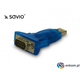 Adapter USB - RS + Kabel USB Savio CL-22