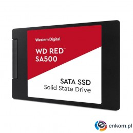 "Dysk SSD WD Red SA500 500GB 2,5"" (560/530 MB/s) WDS500G1R0A"