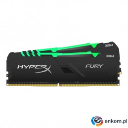 Zestaw pamięci Kingston HyperX FURY RGB HX426C16FB3AK2/16 (DDR4 DIMM  2 x 8 GB  2666 MHz  CL16)