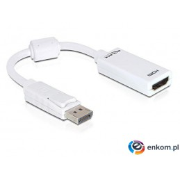 Adapter Delock DisplayPort(M)- HDMI(F) 0,125m