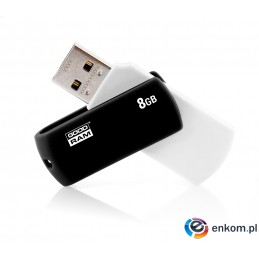 Pendrive GoodRam UCO2-0080KWR11 (8GB  USB 2.0  kolor czarny)
