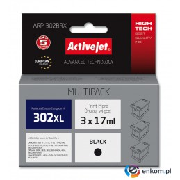 ActiveJet tusz do HP 302XL F6U68AE new ARP-302BRX