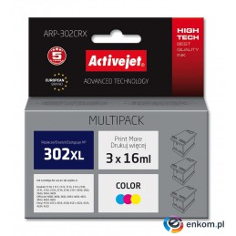 ActiveJet tusz do HP 302XL F6U67AE new ARP-302CRX