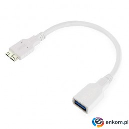 Kabel Unitek Y-C453 OTG USB 3.0. do microUSB 0,2m