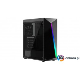 OBUDOWA AEROCOOL PGS SHARD Glass V2 BLACK RGB 4xF