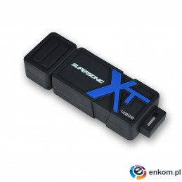 Pendrive Patriot Memory Supersonic Boost XT PEF128GSBUSB (128GB  USB 3.0  kolor czarny)