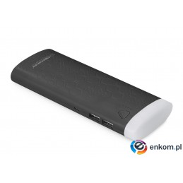 "Powerbank Esperanza 10000mAh ""Fermion"" czarny"