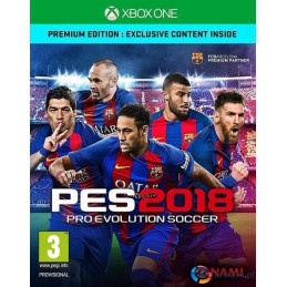 Gra Pro Evolution Soccer 2018 Premium (XBOX ONE)