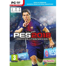 Gra Pro Evolution Soccer 2018 Premium (PC)