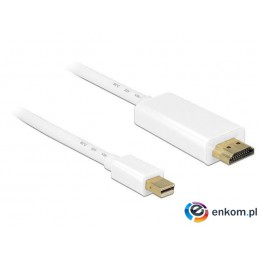 Kabel Delock mini DisplayPort 1,1M -  HDMI-A M 2m Gold