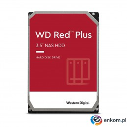 "Dysk HDD WD Red Plus WD60EFZX (6 TB   3.5""  128 MB  5640 obr/min)"