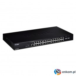 D_Link DGS-2000-28P 24-port PoE Gigabit Managed Swi
