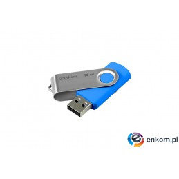 Pendrive GoodRam Twister UTS2-0160B0R11 (16GB  USB 2.0  kolor niebieski)