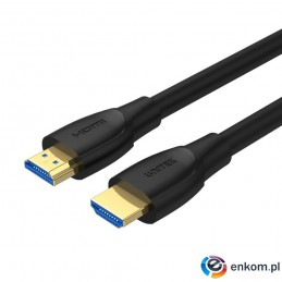 UNITEK KABEL HDMI 2.1,4K, HIGH SPEED,15M, C11046BK