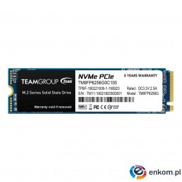 Dysk SSD Team Group MP33 256GB M.2 2280 PCI-e (1600/1000)