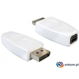 Adapter Delock DisplayPort (M) - mini DisplayPort (F)