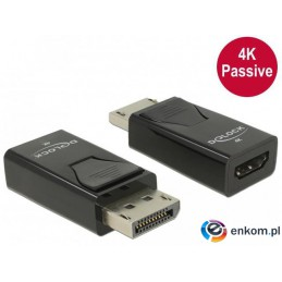 Adapter Delock DisplayPort 1.2(M) -  HDMI(F) pasywny