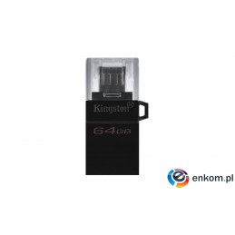 KINGSTON FLASH 64GB DataTraveler MicroDuo 3 Gen2 + microUSB (Android/OTG)