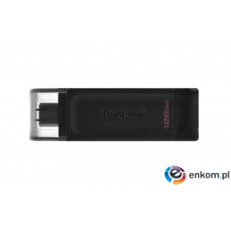 KINGSTON FLASH 128GB USB-C 3.2 Gen1 DataTraveler 70
