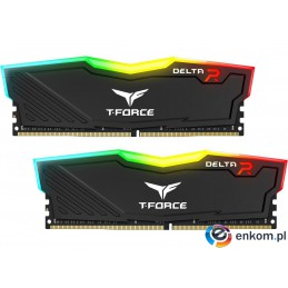 Team Group Delta RGB DDR4 16GB(2x8GB) 3200MHz black