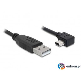 Kabel Delock USB Mini 2.0 AM-BM5P (CANON) 0,5m Wtyk 90""