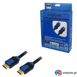 Kabel HDMI LogiLink CHB1115 High Speed Ethernet, 15m