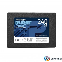 "Dysk SSD Patriot Burst Elite 240GB SATA3 2,5"" (450/320 MB/s) 7mm"
