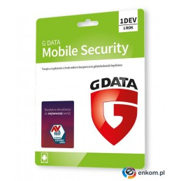 GDATA Mobile Internet Security 1DEV 1rok karta-klucz