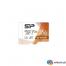Silicon Power mSDXC Superior Pro V30 256GB UHS-1+ad