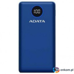 ADATA POWERBANK P20000QCD BLUE