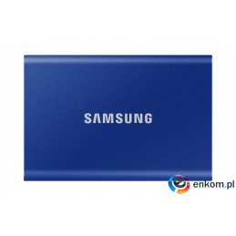 Dysk Samsung SSD T7 Portable 500GB MU-PC500H/WW niebieski