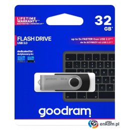 Pendrive GOODRAM Twister 32GB USB 3.0 Black