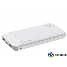 TRACER POWERBANK 10000 MAH SLIM WHITE TRABAT46808