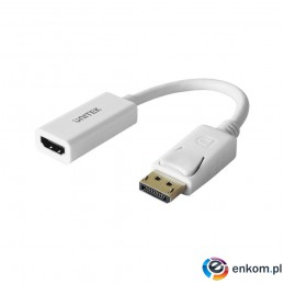 UNITEK ADAPTER DISPLAYPORT 1.2 - HDMI 1.4, Y-6332