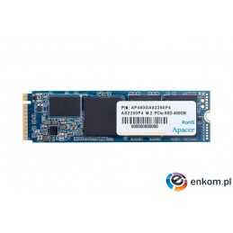 Dysk SSD Apacer AS2280P4 256GB M.2 PCIe Gen3 x4 2280 (1800/1100 MB/s) 3D TLC