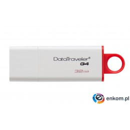 Pendrive Kingston DTIG4/32GB (32GB  USB 3.0  kolor biały)