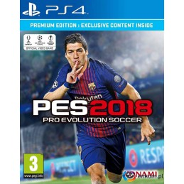 Gra Pro Evolution Soccer 2018 Premium (PS4)