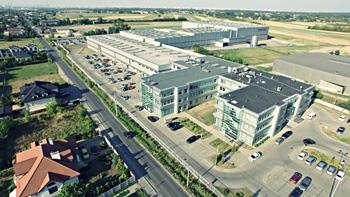 Centrum logistyczne w Polsce